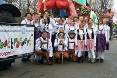 Carnavalsoptocht 2012